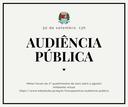 Audiência detalha contas públicas no segundo quadrimestre