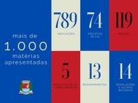 Câmara apresenta 1 mil matérias nos primeiros 5 meses