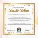 188 Anos: Sessão Solene acontece dia 7 no Plenário da Câmara