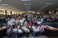 """""""Vereadores-jovens"""" da escola Suely Cação priorizaram propostas sobre solidariedade"""