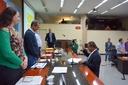 23ª Sessão é marcada pela posse do vereador Prof. Luiz Carlos