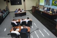 Na 34 ª sessão do ano foram aprovados 7 projetos de lei e apresentadas 86 proposituras