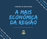 Câmara de Indaiatuba é a mais econômica da região