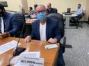 Cebolinha toma posse, é elogiado por colegas e retorna à Secretaria de Governo