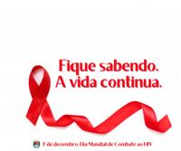 Dia Mundial de Combate ao HIV