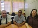 Hélio Ribeiro se reúne com a dirigente regional de Ensino
