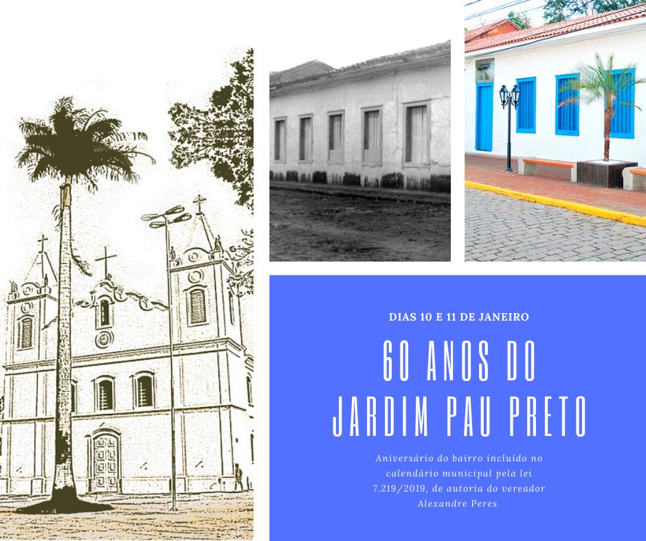 Homenagens celebram 60 anos do Jardim Pau Preto