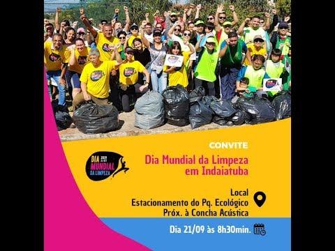 """Indaiatuba comemora no sábado  o """"Dia Mundial da Limpeza"""""""