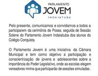 Parlamento Jovem realiza 2ª sessão simulada na terça-feira
