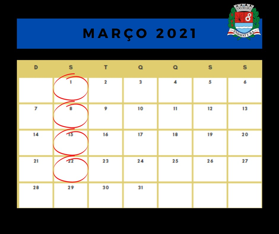 Próxima sessão ordinária ocorrerá no dia 5 de abril