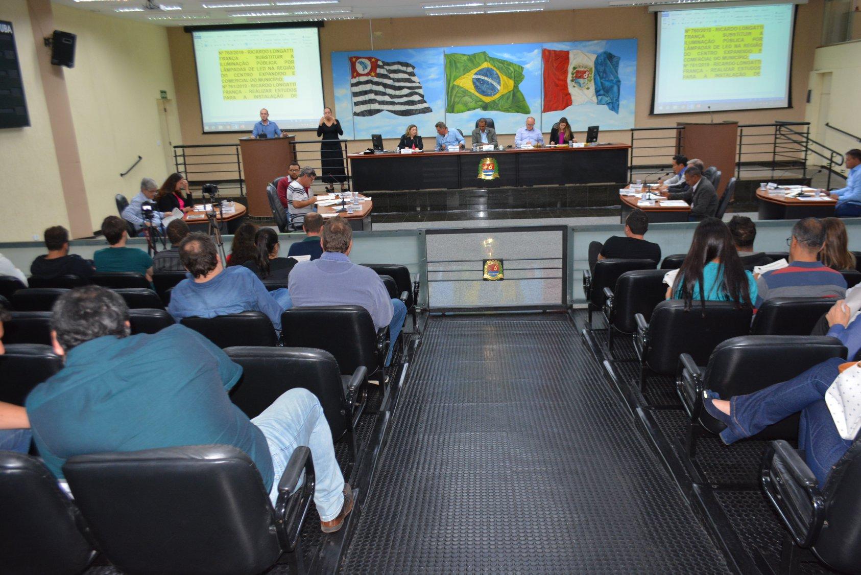 Seis projetos são aprovados durante 14ª sessão de Câmara
