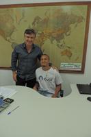 """Vereador apadrinha 3 indicações de aluno participante do projeto """"Parlamento Jovem"""""""