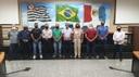 Vereadores eleitos em Artur Nogueira visitam a Câmara de Indaiatuba