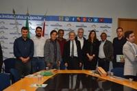 Vereadores participam de assinatura de termo Indaiatuba-Itália