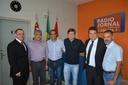 Vereadores prestigiam migração para nova frequência da Rádio Jornal