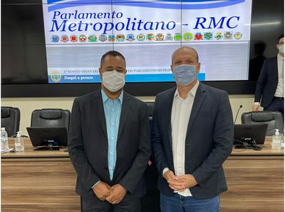 Pepo e Décio Rocha participam de encontro da RMC