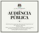 Prefeitura e Câmara realizam audiência pública sobre as metas fiscais do 3º quadrimestre de 2020