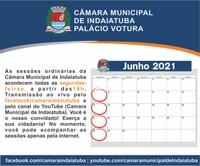 Veja o calendário das próximas sessões